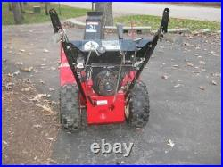 10 HP 2 Stage Snapper Snow Blower Thrower, Electric Start NO SHIPPING Runs Gd