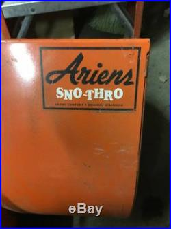 1971 Ariens Sno-Thro 32 wide snowblower 10000 all original, excellent, clean