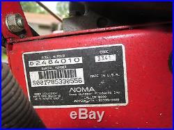 1993 Vintage Agway/Noma 2 Stage Snow Blower 8 HP 24 Cut Runs Nice! LQQk