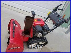 1994 Honda HS828 track drive snowbower 28 pull start