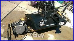 2003 2004 Craftsman 42 2 Stage Snow Thrower Tractor Attachment 486.248381