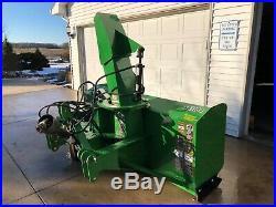 2012 FRONTIER (John Deere) SB1184 3-PT Snow Blower
