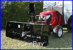 2016 Bercomac 56 Snowblower Attachment & Cab for Kioti CS model Tractors #2385