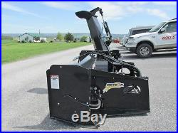 2016 Meteor 76 Snow Blower, Skid Loader Mount, Hydraulic Drive, Barely Used