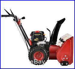 22 inch 212cc Two-Stage Electric Start Gas Snow Blower/Thrower