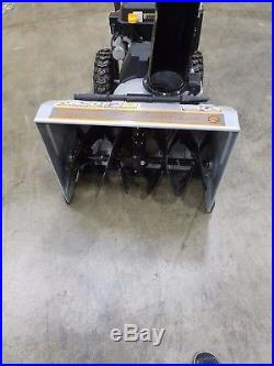 24 Dual Stage Snow Blower Dirty Hand Tools