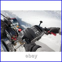 26 In. 208 Cc Two-Stage Gas Snow Blower With Electric Start And Track Drive And