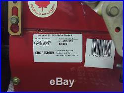 28 inch Electric Start Craftsman Snow Blower 9HP Tecumseh Snow King