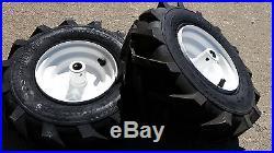 2 3/4 Snowblower Snow Blower Thrower Snowthrower Wheels Tires Rims 13X500X6