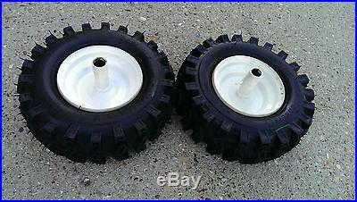 2 7/8 Snowblower Snow Blower Thrower Snowthrower Wheels Tires Rims 13X500X6