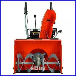 2 Stage Snow Blower Gas Thrower Multi Speed Self Propelled Recoil Start 22 Inch