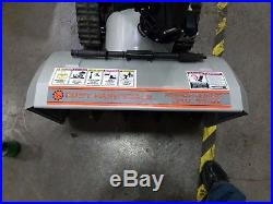 30 Dual Stage Snow Blower With Tracks Dirty Hand Tools