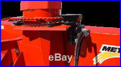 60 3-Point, Pull-Type Meteor Snow Blower with Skid Shoes & Man Chute Rotation