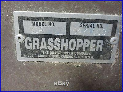 60 Grasshopper Snow Blower
