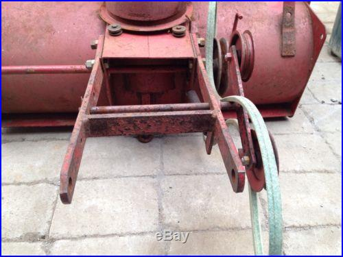 6-6214 Snow Thrower/Wheel Horse Snow Blower/ Toro Snow Thrower 1975