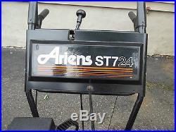 ARIENS ST724 SNOW BLOWER withTECUMSEH ENGINE