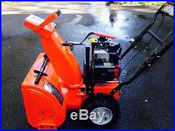 Ariens 5020 snowblower great condition red electric and gas single stage