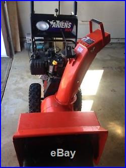 Ariens 8524 snow blower thrower 8.5 hp Tecumseh engine with cover