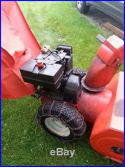 Ariens 8 HP Two Stage Snow Blower with Canopy