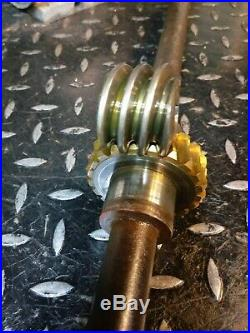 Ariens 924029 Snowblower 32 Auger Shaft 02406500, 02406400 Worm Gears 52400900