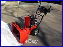 Ariens Compact 24 205cc Gas 24 in. Two-Stage Compact Snow Thrower
