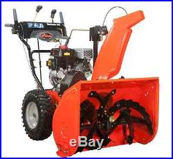 Ariens Deluxe. Two-Stage Electric Start Gas Snow Blower with Auto-Turn Steering