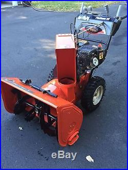 Ariens Platinum 921029 30-Inch 369cc Two-Stage Snow Thrower with Electric/Gas