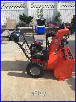 Ariens Snow Blower, 7 hp, 24 cut, good condition, runs well