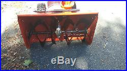 Ariens deluxe 30 snow blower just serviced very low hours