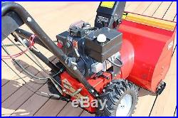 Atlas 24 snow blower 5hp withelectric start