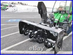 Berco 66 Snow Blower, 22 HP Honda V-twin, Remote Controls, Atv & Utv Mount