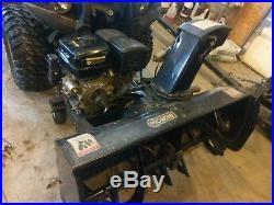 Berco 48 Snow Blower, 22 HP Kohler, Electric Remote Controls, Atv & Utv Mount