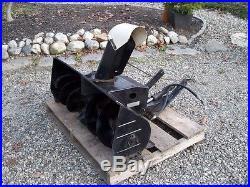 Bolens FMC Snow Blower Attachment For H1704 Or 1502 1504 Garden Tractor Blower