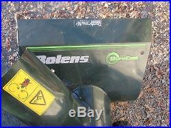 Bolens Snow Blower 8HP 26 Cut Electric Start LQQK