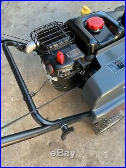 Briggs & Stratton 1022 Model 22 Inch 208cc Single Stage Thrower Gas Snow Blower