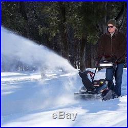 Briggs & Stratton 22 250cc Single Stage Electric Start Gas Snow Thrower 1696741
