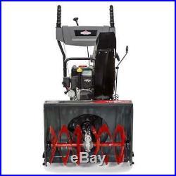 Briggs & Stratton 24 208cc Light Duty Dual Stage Gas Snow Blower (Open Box)