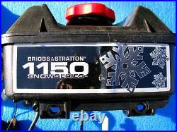 Briggs + Stratton Snowblower 1150 Engine Parts Flywheel Starter Pull Start Carb