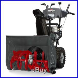Briggs and Stratton 1227MD 250cc 27 2-Stage Snow Thrower with ES 1696619 NEW