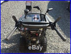 Briggs and Stratton Snow Blower 1227MD 250cc 27 2-Stage READ DESCRIPTION