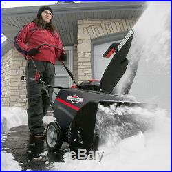 Briggs and Stratton Snow Blower Thrower Gas Powered Single Stage Electric Start