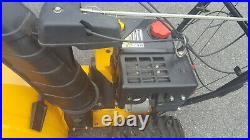 CUB CADET 2X-524 Two Stage Snow Thrower 208 cc Engine 24-Inch Electric Star