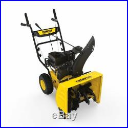 Champion 224cc Compact 24-Inch 2-Stage Gas Snow Blower Electric Start #100434
