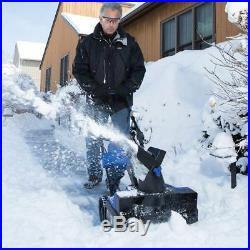 Cordless Snow Blower Thrower Shovel Lightweight Best 40V Battery LED Headlight