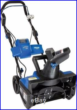 Cordless Snow Thrower Blower Single Stage With Rechargeable Lithium-Ion Battery