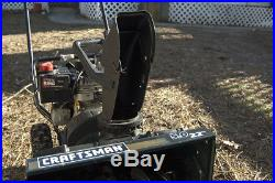 Craftsman 22 5.0 HP Snow Blower Excellent running & condition