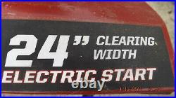 Craftsman 24 Electric Start Snowblower