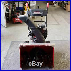 Craftsman 24 Two Stage Snow thrower/Snow Blower with Electric Start