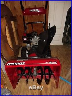 Craftsman 24 inch Two Stage Snow blower, Snow blower, Snow thrower, Snow Machine