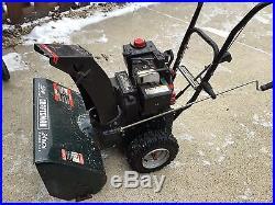 Craftsman 24 inch snowblower Model # 536 886440 Used